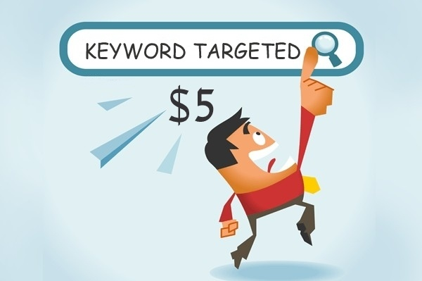 Unlimited Keyword Targeted Google Organic Traffic with Low Bounce Rate for 5 days