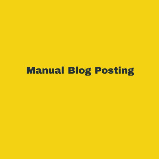 Blog Posting Service