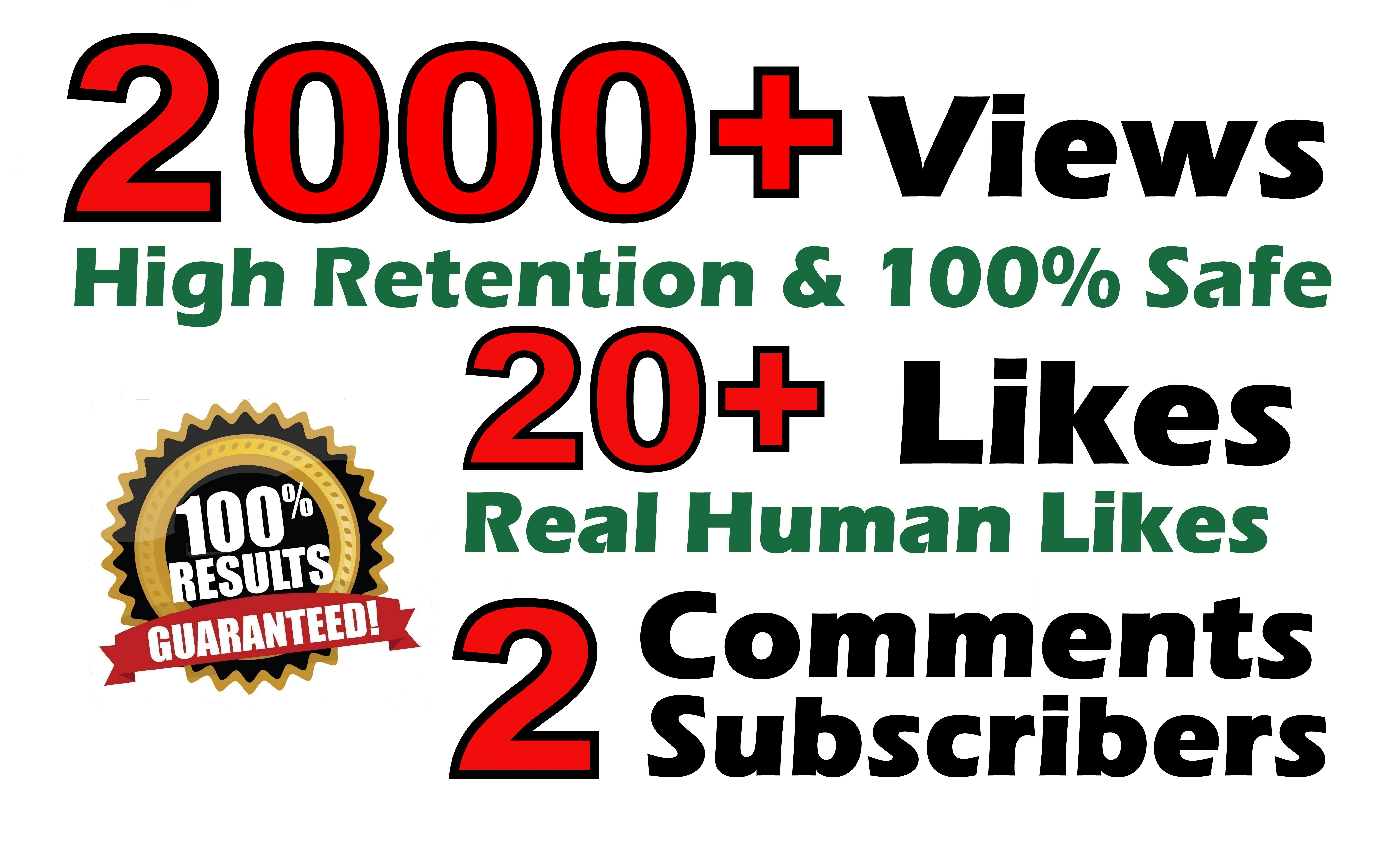 Youtube video social promotion fast safe lifetime guarantee