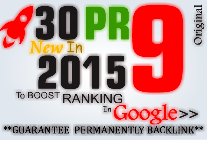Skyrocket your Google RANKINGS with 30 High Pr Seo Backlinks Youtube Domination