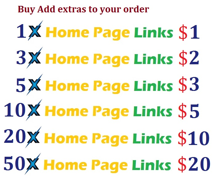 Buy Backlink at Homepage Dofollow Backlink Get High Alexa Rank Google rank
