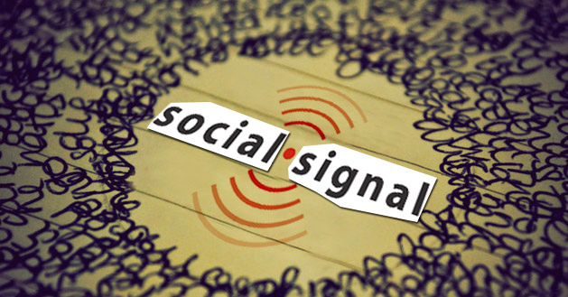 give 9800 Organic Social Signals from top social medi...