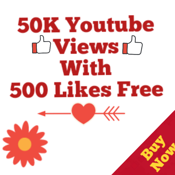 Instant 50000 Or 50K Or 50,000 High Quality YouTube Views with choice Extra service 1000, 2000, 3000, 5000, 10000, 15000, 20000, 25000, 40000 and 50,000, 50k, 100,000 100k, 200K, 300K, 500K, 1 Million