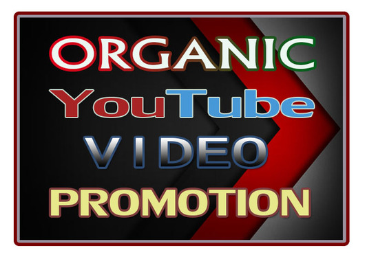 Organic Growth Youtube Promotion Via Real People User