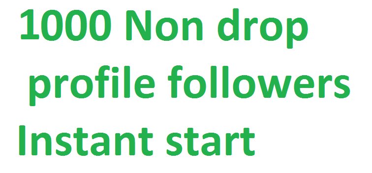 Instant 1000++ Social media followers via real user