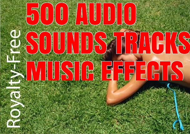 I will supply 500 PROFESSIONAL Royalty Free Music Tracks Sound Jingles FX