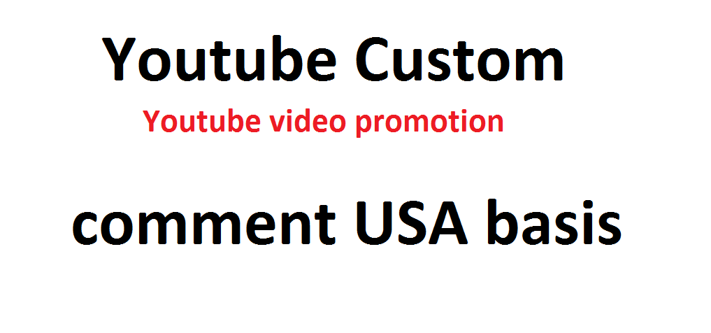 20 USA basis custom Comments fast with good profile