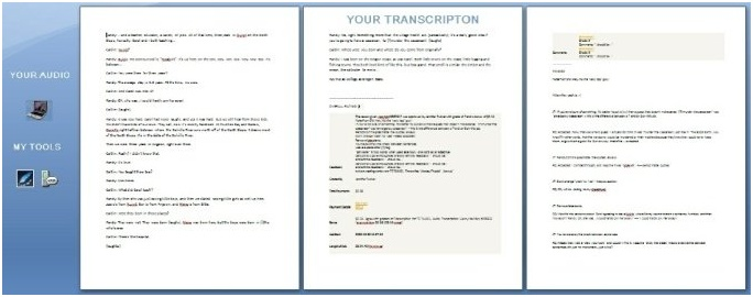 I will transcribe 10 mins of audio or video
