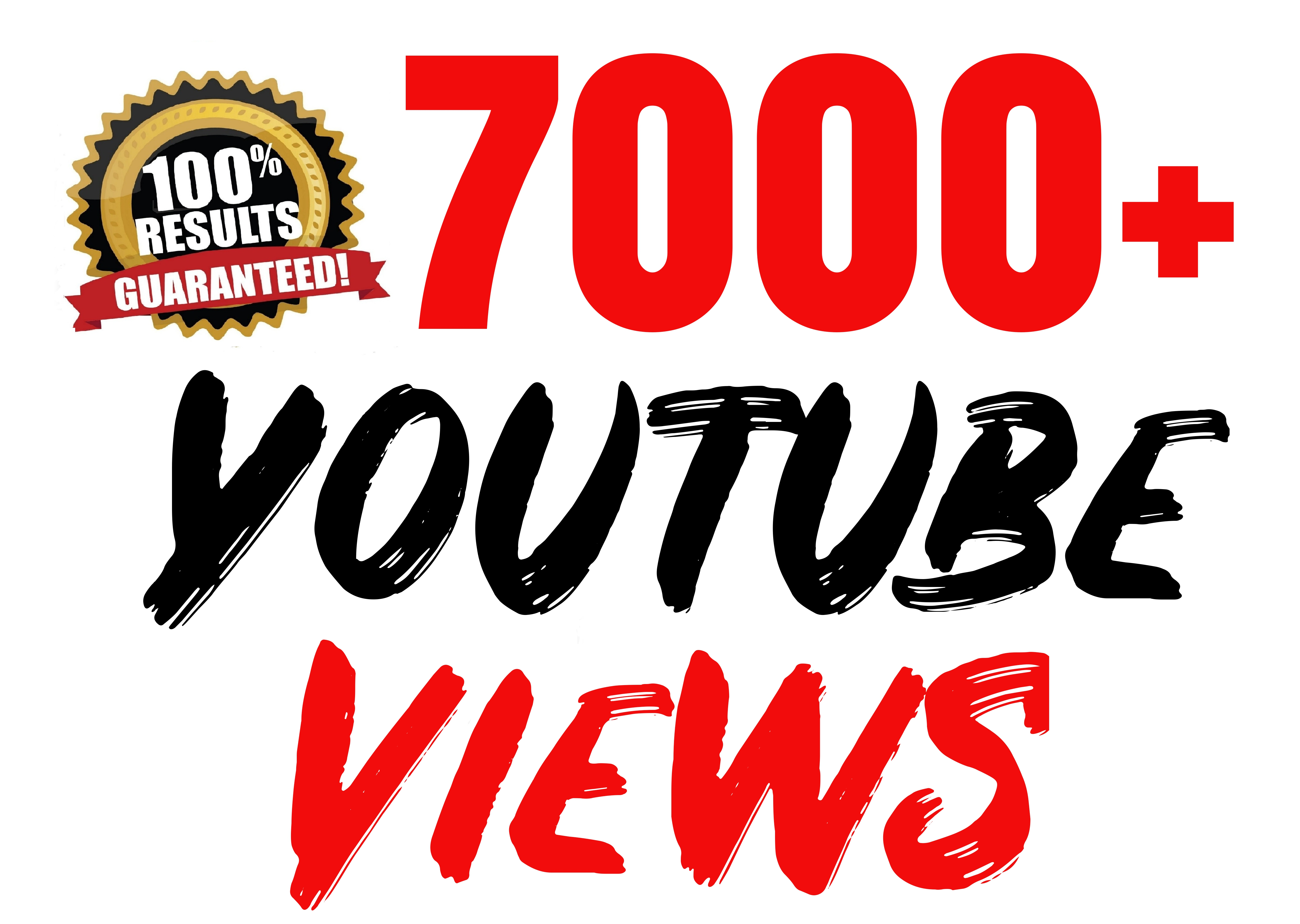 Youtube 7000+ Vieews SEO Optimized Lifetime Guaranteed