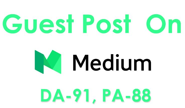 Publish a Guest Post on MEDIUM DA-92