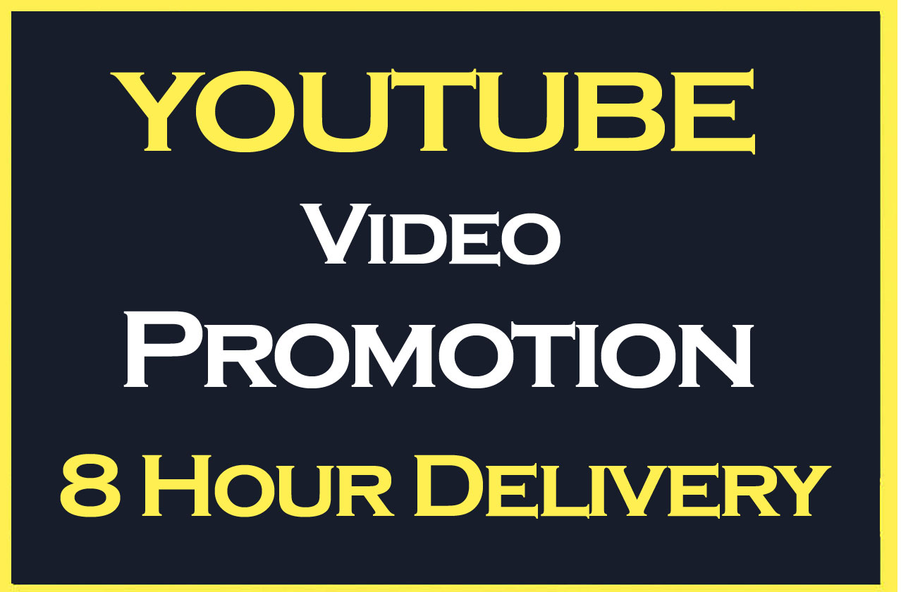 YouTube Video Promotion and Social media Marketing