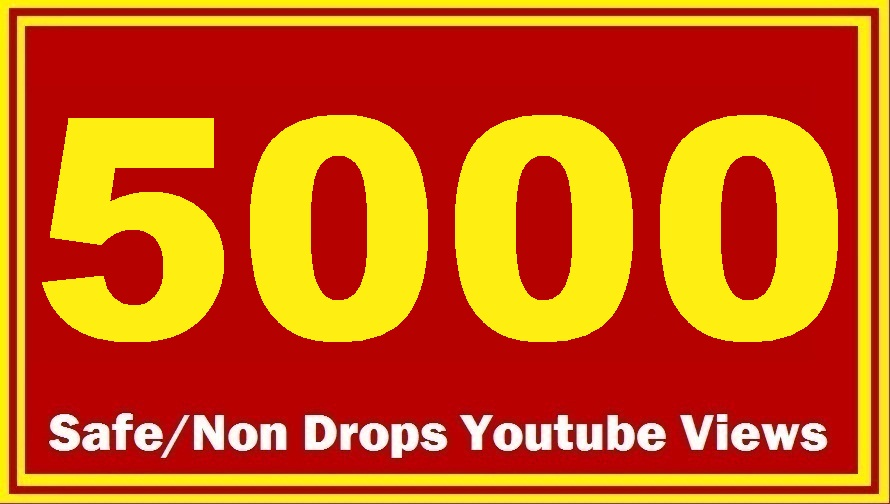 5000 HQ Safe YouTube Views Super Fast delivery