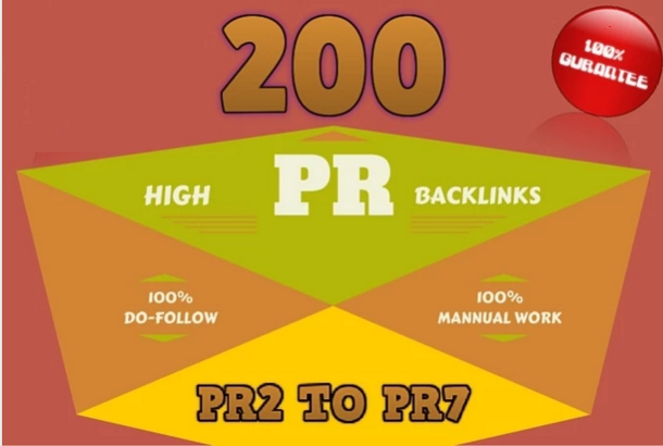 I will do manually 200 blog comments on actual page rank pr 2 to 7