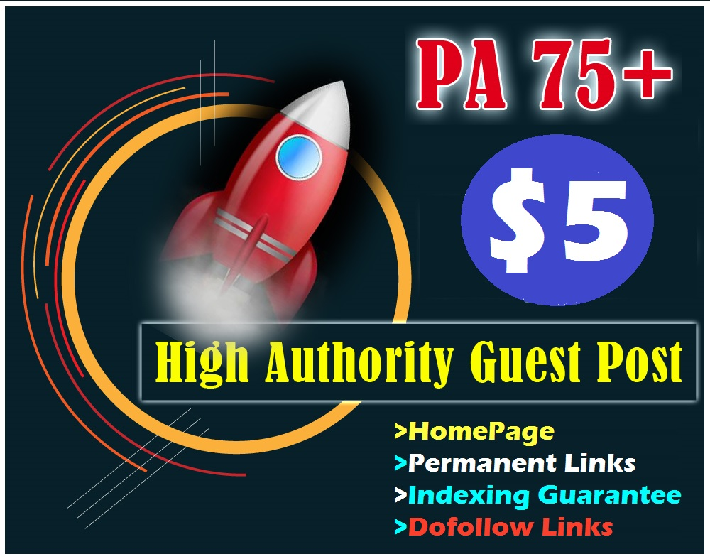10 Manual PA 75+ HomePage High Quality Dofollow PBN Backlinks