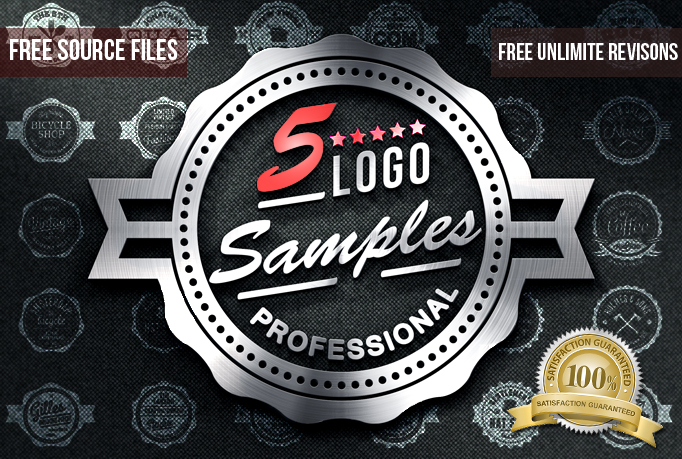 I will do a 5 PROFESSIONAL initial logo samples with free jpg, psd, ai, and unlimited revisions