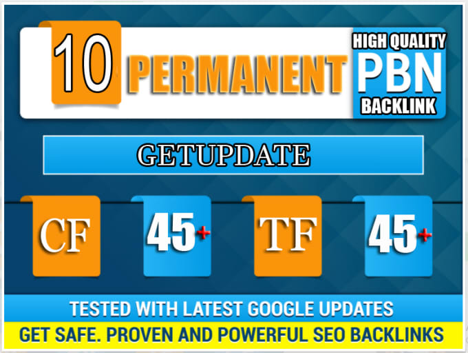 I Will 10 Pbn High Tf Cf Da Pa Backlink Permanent