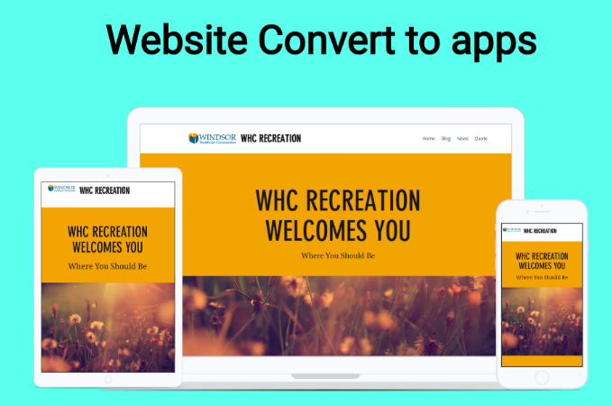 I Will Convert Website To Android App Or IOS App