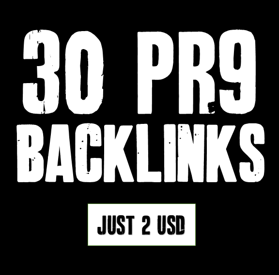 give you 30 authority Backlinks from PR4 to PR9 Social Bookmarking
