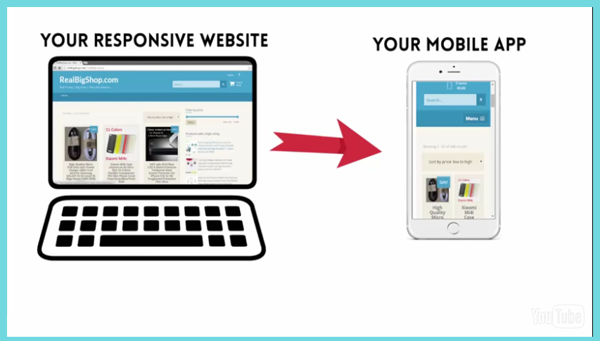 I will convert your website into a cool iOS/iPhone ap...