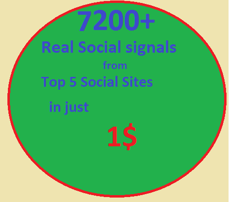 7200 Real SEO Social Signals including High PR9 Pinterest signals social bookmark