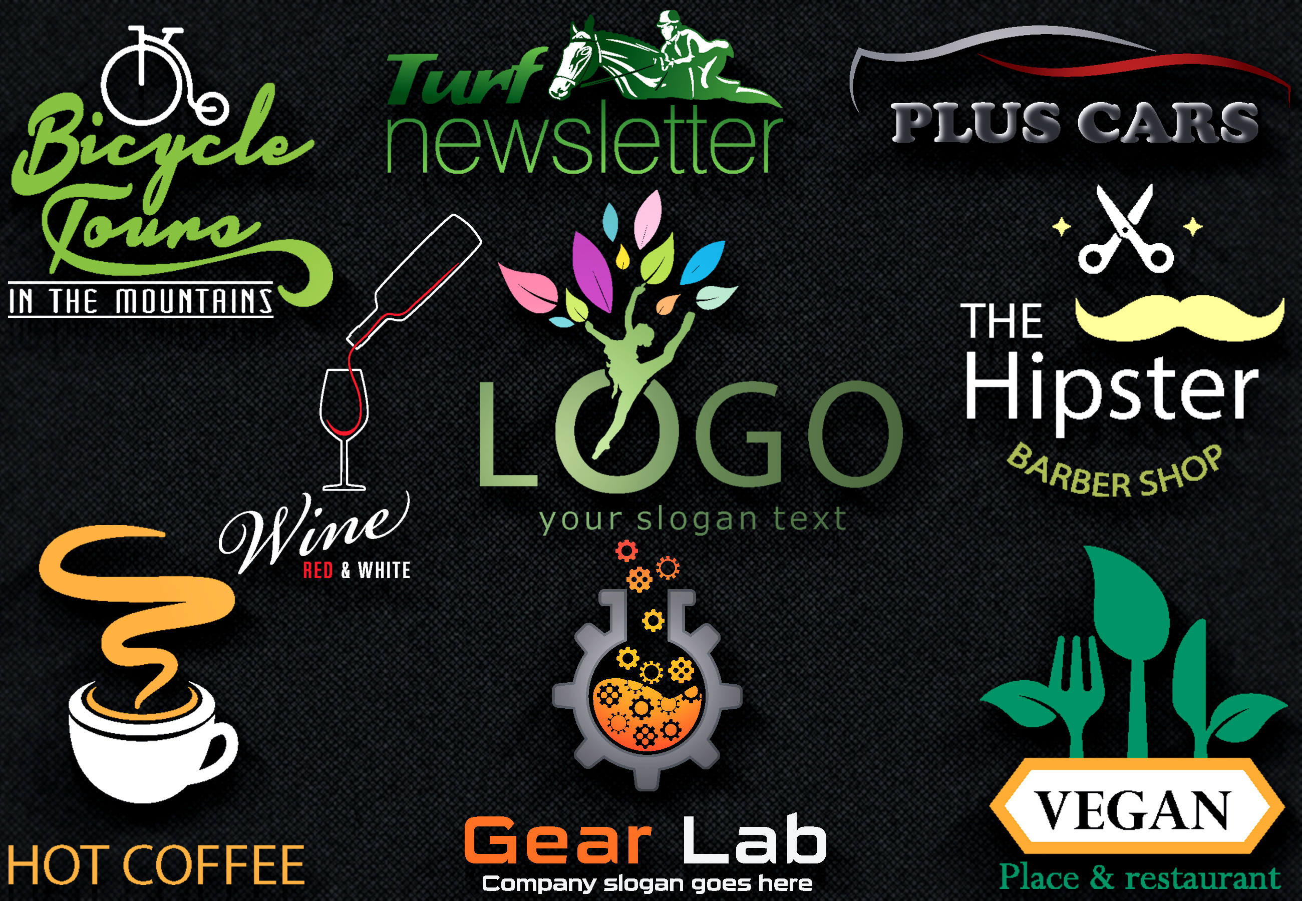 I will design 3 AWESOME logo design in 24 hours