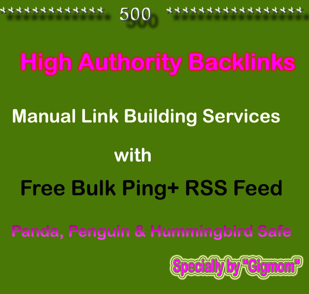 Create Manually 500 High Authority Backlinks for TOP Ranking - DA50-DA100