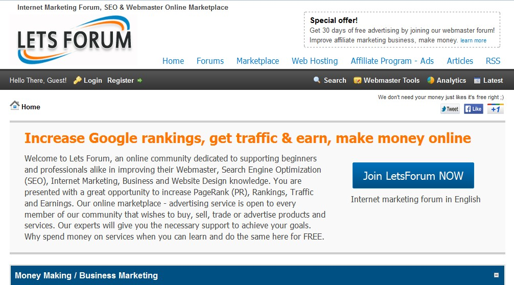 Cheap Advertising. Get traffic to website fast!