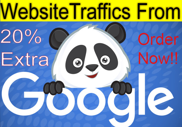 10,000+ Keyword Targeted GOOGLE traffic Real humans - USA Visitors + MORE