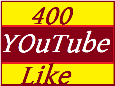 400-450 youtube like very  fast delivered