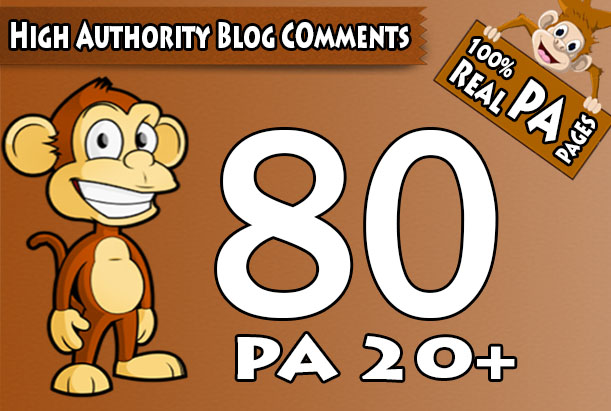 I will skyrocket your websites with 80 High PA/DA TF/CF Blog Comments