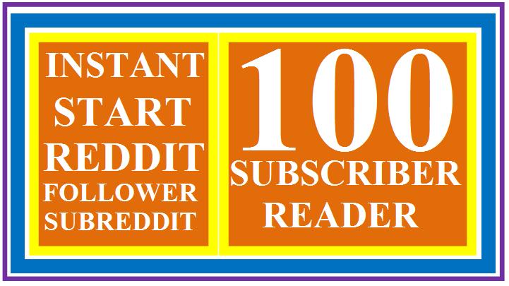 Instantly start 100+ HQ Reddit Subreddit Readers