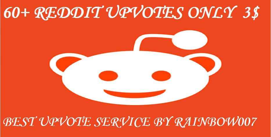 Instant start 60+ Globally Non Drop Reddit Upvotes within 8-10 hours