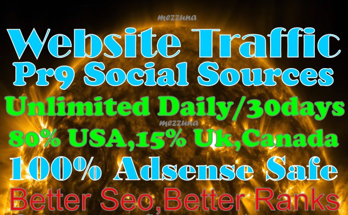 Unlimited Real Targeted Traffic And Social Visitors To your website