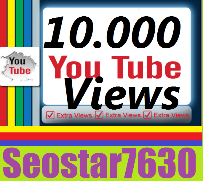 Safe 10.000 Real You-Tube View.s+50 Vide.o Like.s+10 Subs.criber Completed