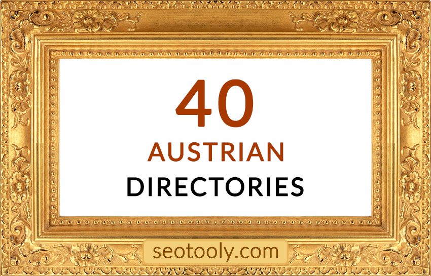Manually 40 Austrian directory submissions