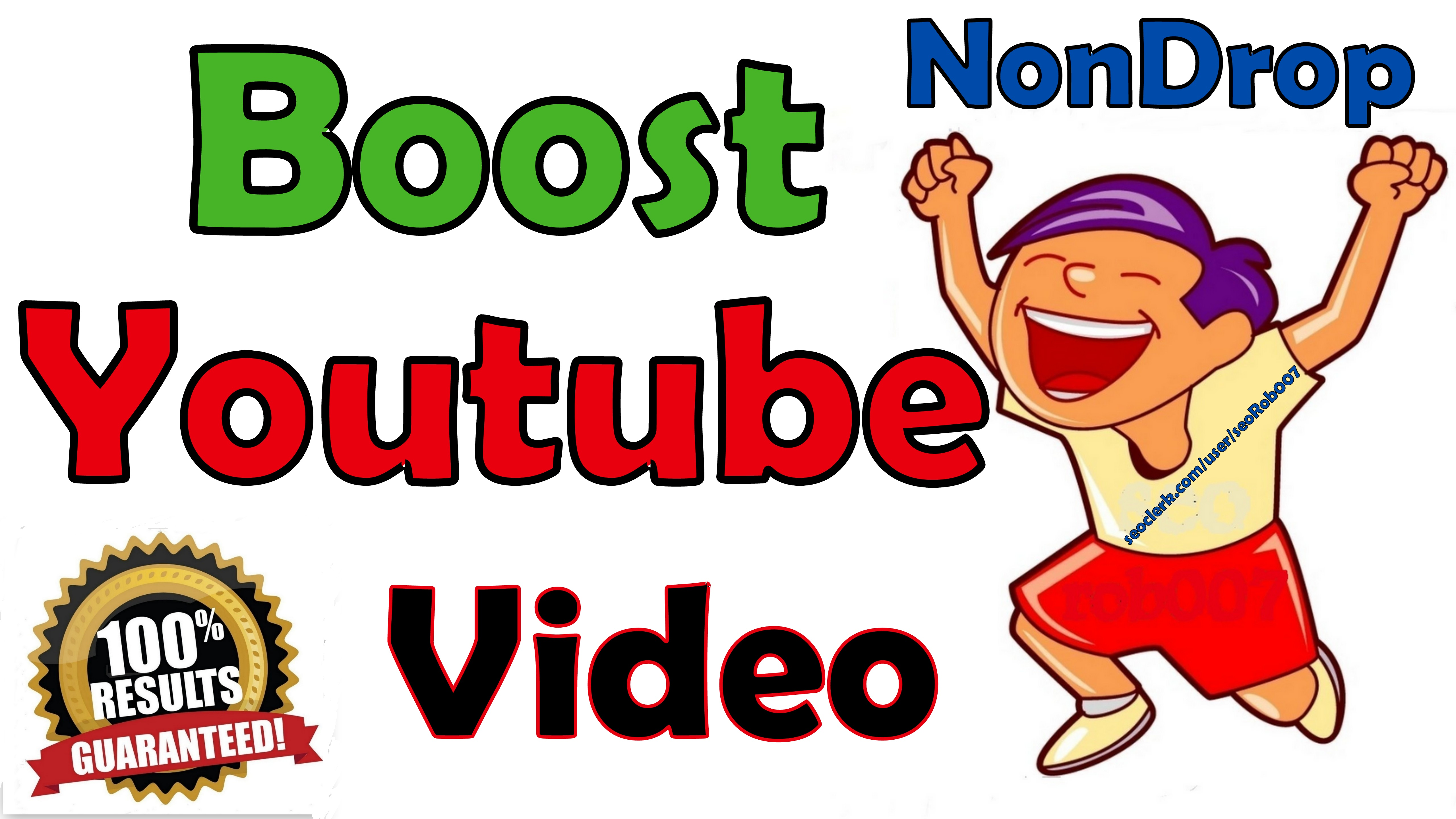 Non Drop YOUTUBE Video Promotion Guaranteed