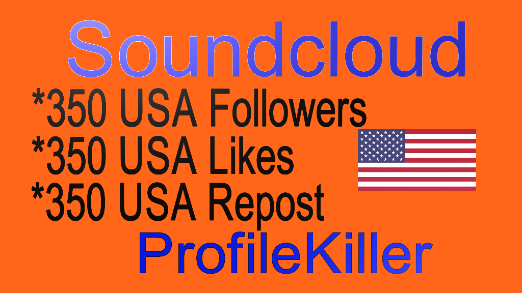 Soundcloud 350 Likes Or 350 Repost Or 350 Followers