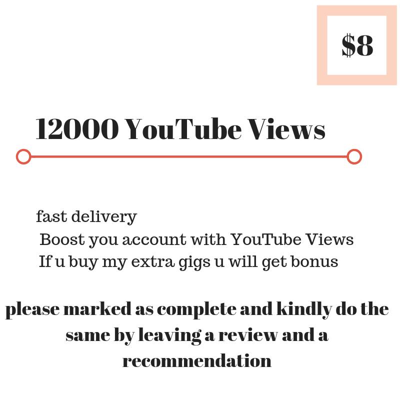 12000 You-Tube V_I_E_W_E_R_S HQ