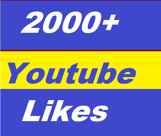 2000+ You tube Likes or 300+ You tube Auto Comments or 400 You Tube subscribers