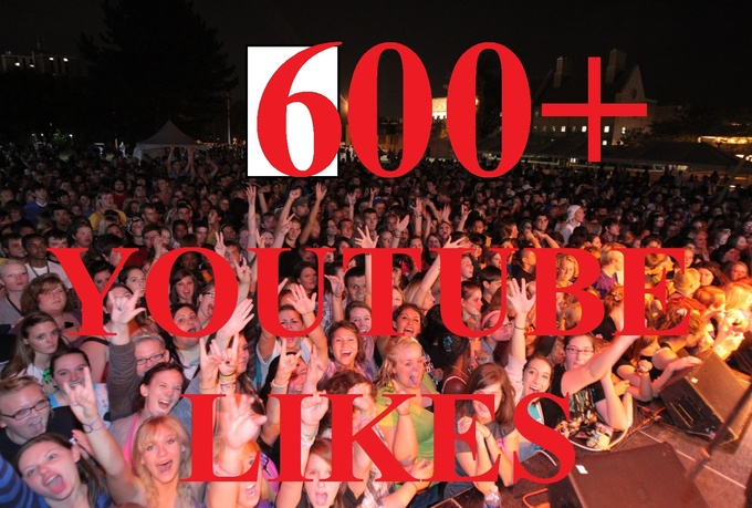 I will give you 500+ YouTube Likes