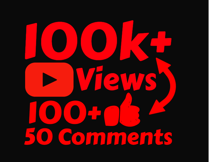 i will add 100,000 High Quality views with 100 Likes