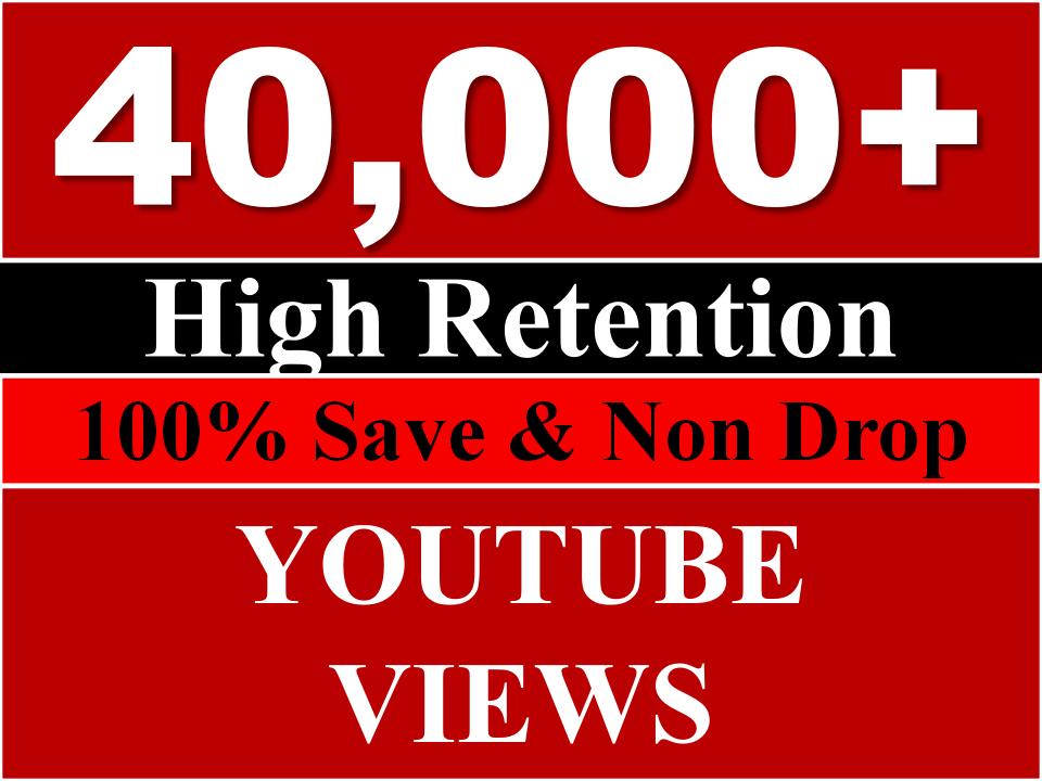 fast 40K YouTube Views HQ
