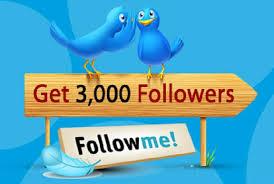 Get 3000+ Splitable HQ Twitter followrs Cheap