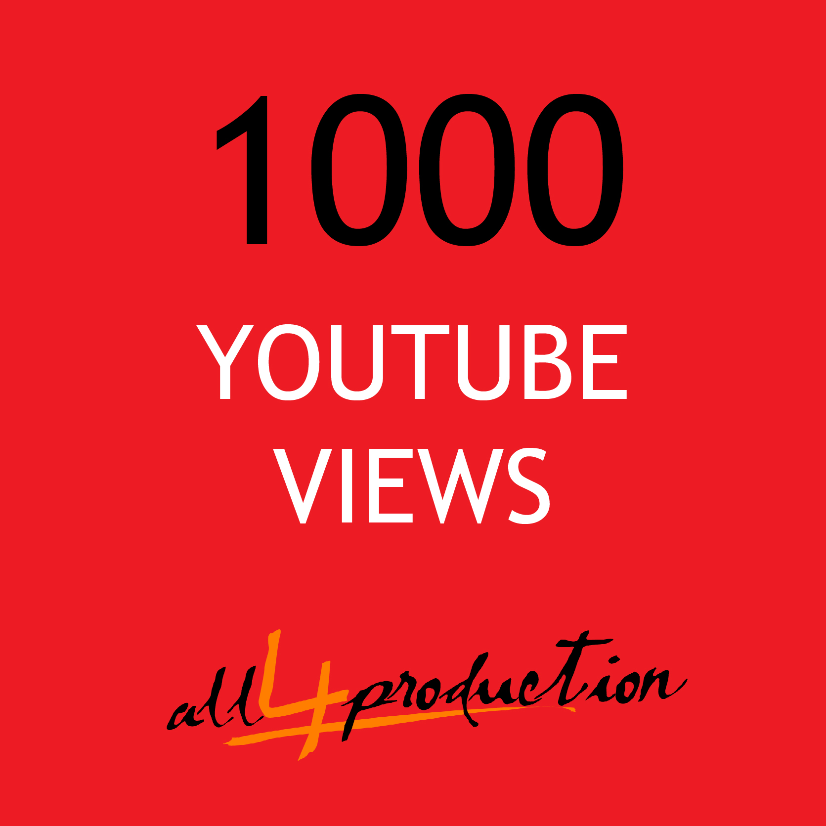 1000 FAST high rentention youtube views RESELLER SERVICE