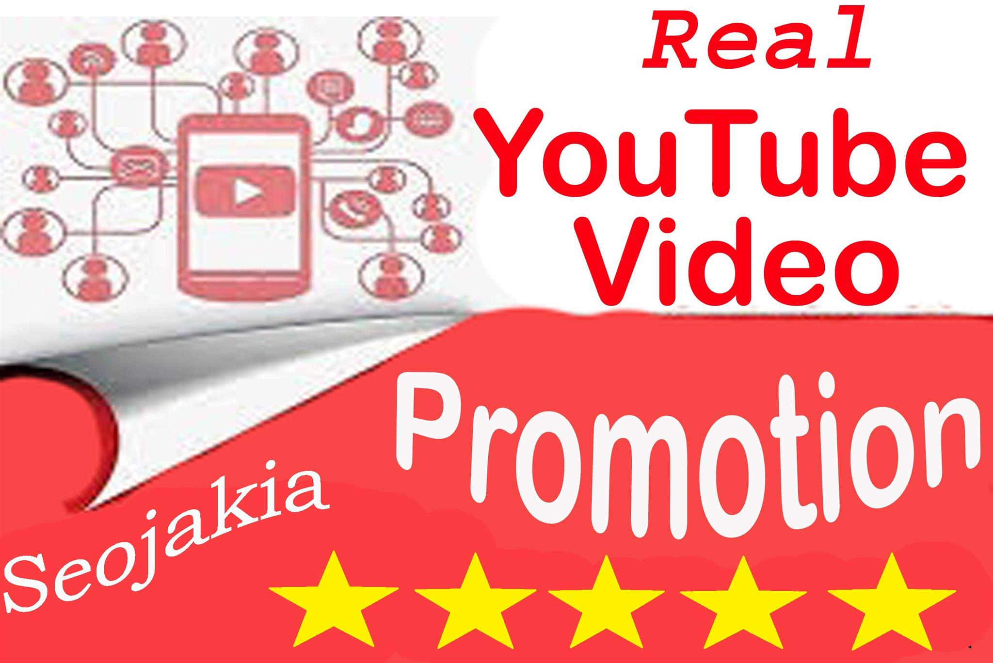 Organic Youtube  Marketing Seo Video Ranking Promotion