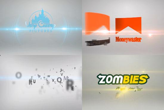 create 3 KILLER Intros Animation