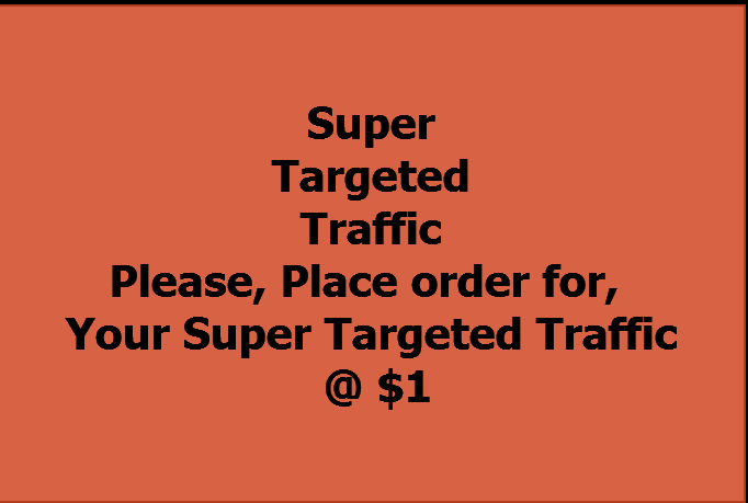 I will send 6000 Super Targeted Organic Tier 1 Countries Traffic for 3 Days