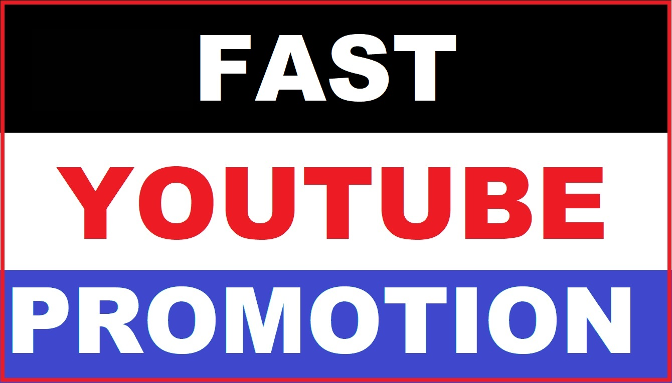 YouTube Video Promotion with safe and NON Drop audience