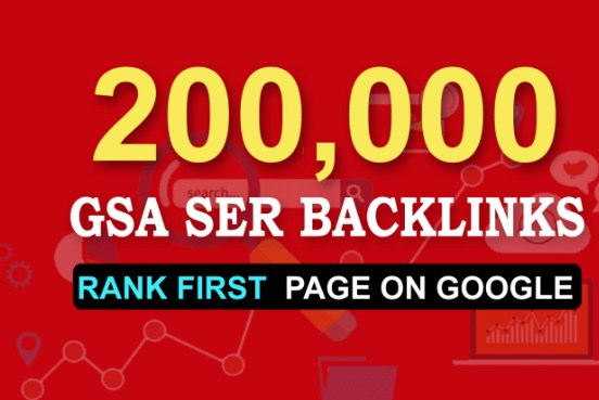 I Will do 200,000 Dofollow Backlinks For Your Website