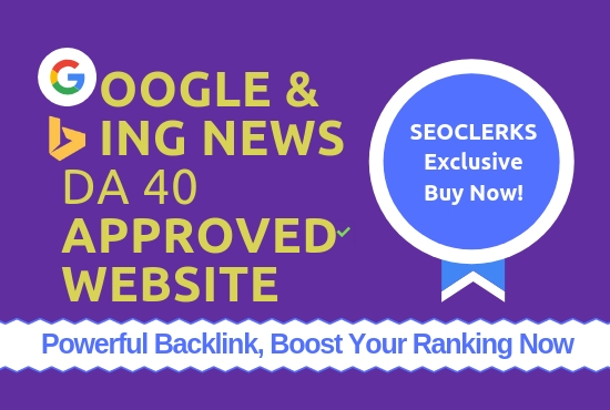 Publish 5 Guest Posts On General Blogs DA/PA 30-40 Google Fast Ranking